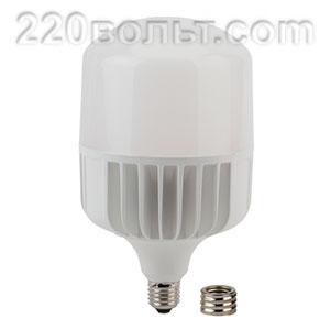 Лампа светодиодная ЭРА LED POWER T140-85W-6500-E27/E40 (диод, колокол, 85Вт, хол, E27/E40)