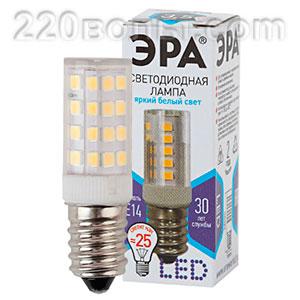 Лампа светодиодная ЭРА LED T25-3,5W-CORN-840-E14 (диод, капсула, 3,5Вт, нейтр, E14)
