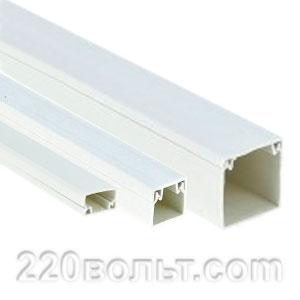 Кабельный канал EKF-Plast белый