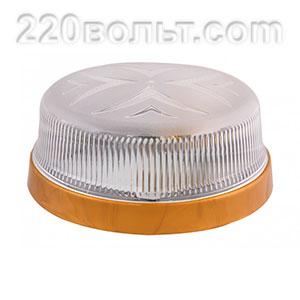 Светильник ERKA 1102-G, настенный, 26w, золото-прозрачный, Е27, IP20