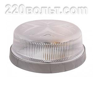 Светильник ERKA 1102-S, настенный, 26w, серебро-прозрачный, Е27, IP20