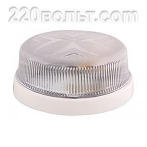 Светильник ERKA 1102, настенный, 26w, белый-прозрачный, Е27, IP20