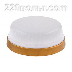 Светильник ERKA 1103-GB, настенный, 26w, золото-белый, Е27, IP20