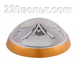 Светильник ERKA 1126-G, настенный, 26w, золото-прозрачный, Е27, IP20