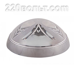 Светильник ERKA 1126-S, настенный, 26w, серебро-прозрачный, Е27, IP20