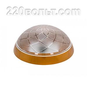 Светильник ERKA 1127-G, настенный, 26w, золото-прозрачный, Е27, IP20