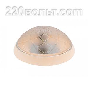 Светильник ERKA 1127-K, настенный, 26w, бежевый-прозрачный, Е27, IP20
