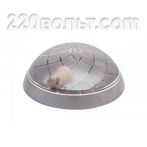 Светильник ERKA 1127-S, настенный, 26w, серебро-прозрачный, Е27, IP20