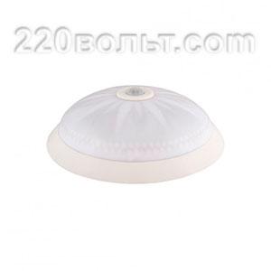 Светильник ERKA 1149D-B, настенный с дат/дв, 2х26w, белый-белый