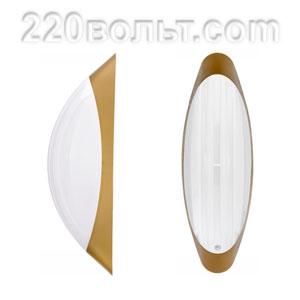 Светильник ERKA 1205-GB, настенный, 26w, золото-белый, Е27, IP20