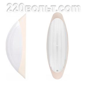 Светильник ERKA 1205-KB, настенный, 26w, бежевый-белый, Е27, IP20