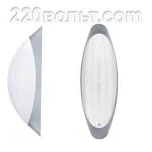 Светильник ERKA 1205-SB, настенный, 26w, серебро-белый, Е27, IP20