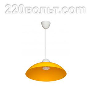 Светильник ERKA 1301, потолочный, 60w, желтый, Е27