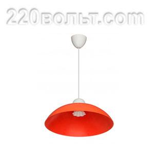 Светильник ERKA 1301, потолочный, 60w, оранжевый, Е27