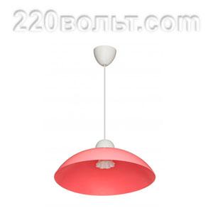 Светильник ERKA 1301, потолочный, 60w, розовый, Е27