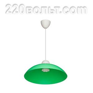 Светильник ERKA 1301, потолочный, 60w, салатовый, Е27