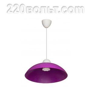 Светильник ERKA 1301, потолочный, 60w, фиолетовый, Е27