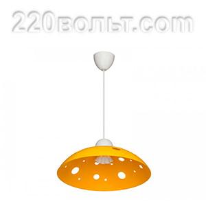 Светильник ERKA 1302, потолочный, 60w, желтый, Е27