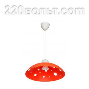 Светильник ERKA 1302, потолочный, 60w, оранжевый, Е27