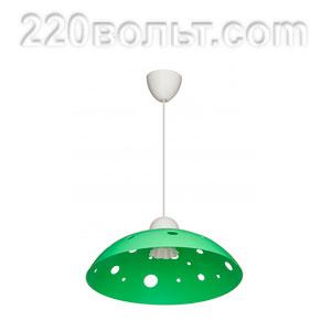 Светильник ERKA 1302, потолочный, 60w, салатовый, Е27