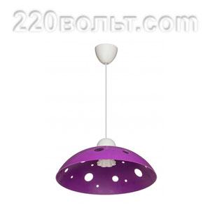 Светильник ERKA 1302, потолочный, 60w, фиолетовый, Е27