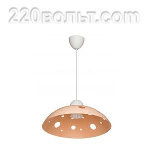 Светильник ERKA 1302, потолочный, 60w, бежевый, Е27