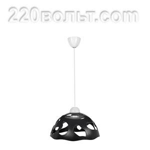 Светильник ERKA 1304, потолочный, 60w, черный, Е27