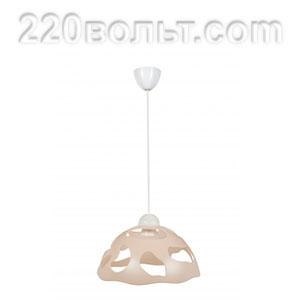Светильник ERKA 1304, потолочный, 60w, бежевый, Е27