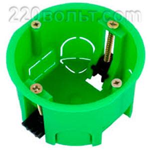 Подрозетник монтажная установочная коробка в гипс