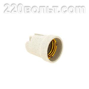 Патрон керамический E27 EKF PROxima