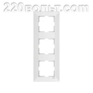 Рамка 3-я вертикальная Meridian Viko