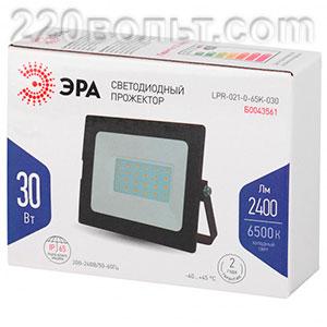 Прожектор светодиодный 30Вт 2400Лм 6500К Стандарт ЭРА