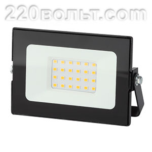 Прожектор светодиодный 30Вт 2400Лм 6500К Стандарт 139х104х35 LPR-021-0-65K-030 ЭРА