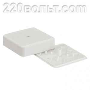Коробка распаячная ( 78х78х26) KMР-030-030 наружная белая EKF PROxima