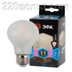 Лампа светодиодная ЭРА F-LED A60-11W-840-E27