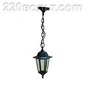 Светильник садово-парковый Адель 1 подвесной шестигранный ЭРА