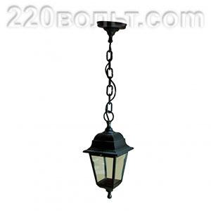 Светильник садово-парковый Адель подвесной четырехгранный ЭРА