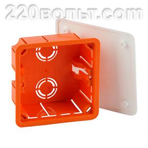 Коробка распаячная KRT для твердых стен IP20 ЭРА