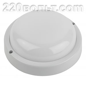 Светильник светодиодный 12Вт IP65 1140Лм 6500К СВЧ датчик/дв ЭРА