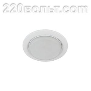 Светильник точечный под лампу 13W тонкий белый ЭРА