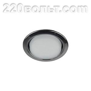 Светильник точечный под лампу Gx53 черный металл ЭРА