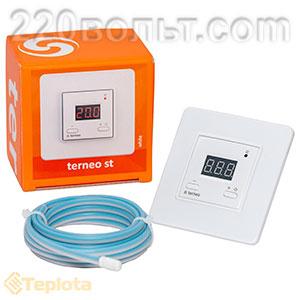 Термостат для теплых полов электронный с датчиком пола