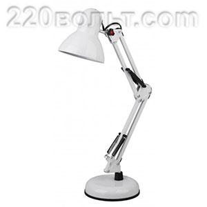 Светильник настольный N-214-E27-40W-W белый ЭРА