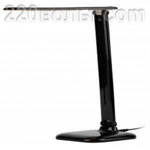 Светильник настольный NLED-462-10W-BK черный ЭРА
