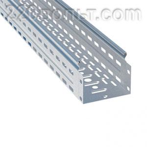 Лоток перф. металлический 100х200х3000-0.8мм EKF
