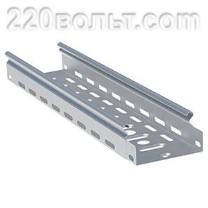 Лоток перф. металлический 50х150х3000-0.55мм EKF