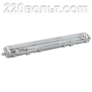 Светильник пылевлагозащищенный IP65 Slim 2х1200мм (ЕС)