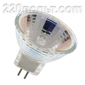 Лампа галогенная MR16 12v75w Feron