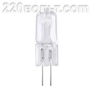 Лампа гал.пальчик.220v75w G5.3 Feron