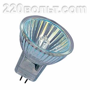 Лампа галогенная MR16 220v75w Feron